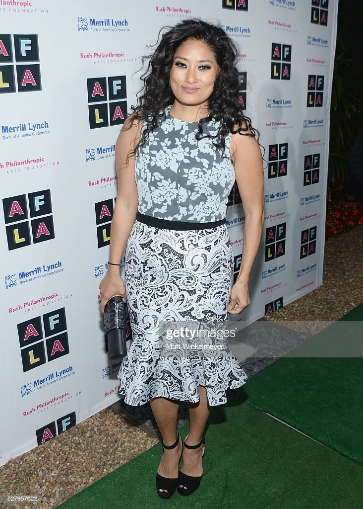 Composer Chloe Flower attends Russell Simmons' Rush Philanthropic Arts Foundation's inaugural Art For Life Los Angeles at Private Residence on May 3...