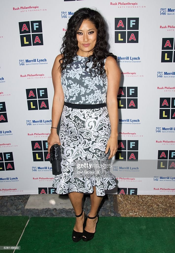 Composer Chloe Flower attends Russell Simmons 'Rush Philanthropic Arts Foundation's Inaugural Art For Life Los Angeles' on May 3 2016 in West...
