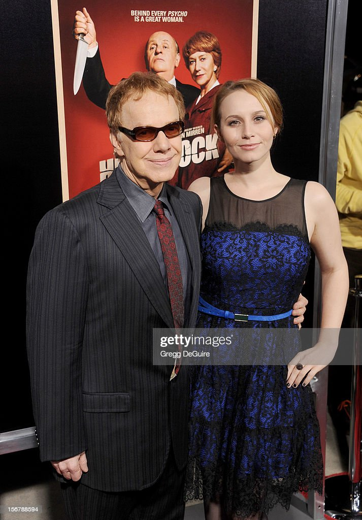 Composer Danny Elfman and daughter Mali Elfman arrive at the Los Angeles premiere of 'Hitchcock' at the Academy of Motion Picture Arts and Sciences on November 20, 2012 in Beverly Hills, California.