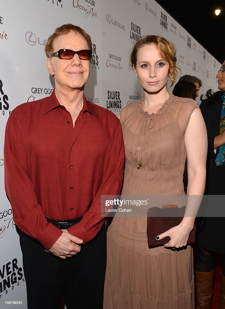 Composer Danny Elfman (L) and Mali Elfman attend the ''Silver Linings Playbook' Los Angeles special screening at the Academy of Motion Picture Arts and Sciences on November 19, 2012 in Beverly Hills, California.