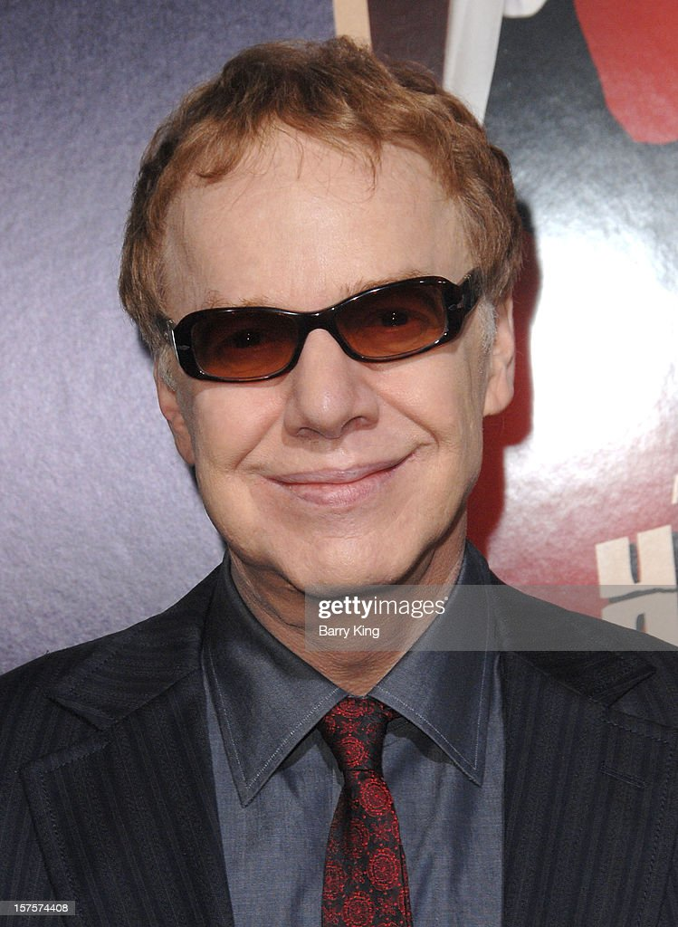 Composer <a gi-track='captionPersonalityLinkClicked' href=/galleries/search?phrase=Danny+Elfman&family=editorial&specificpeople=815887 ng-click='$event.stopPropagation()'>Danny Elfman</a> arrives at the Los Angeles Premiere 'Hitchcock' at AMPAS Samuel Goldwyn Theater on November 20, 2012 in Beverly Hills, California.