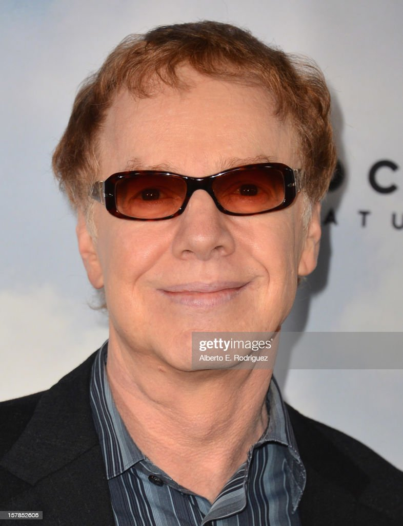 Composer <a gi-track='captionPersonalityLinkClicked' href=/galleries/search?phrase=Danny+Elfman&family=editorial&specificpeople=815887 ng-click='$event.stopPropagation()'>Danny Elfman</a> arrives to the premiere of Focus Features' 'Promised Land' at the Directors Guild Of America on December 6, 2012 in Los Angeles, California.