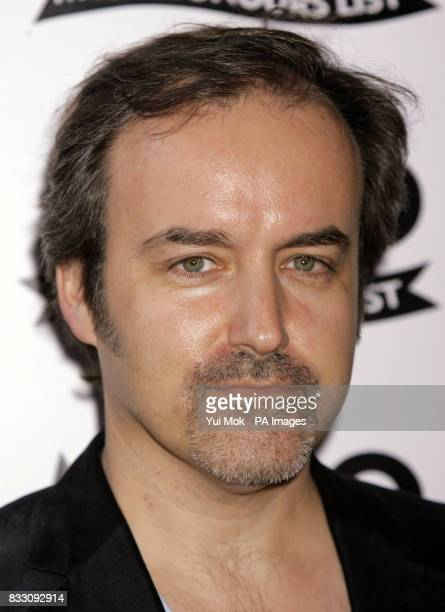 Composer David Arnold arrives for the Mojo Honours List award ceremony at The Brewery east London