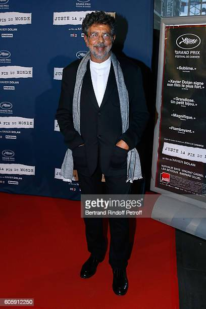Composer Gabriel Yared attends the 'Juste la fin du Monde' Paris Premiere at Mk2 Bibliotheque on September 15 2016 in Paris France