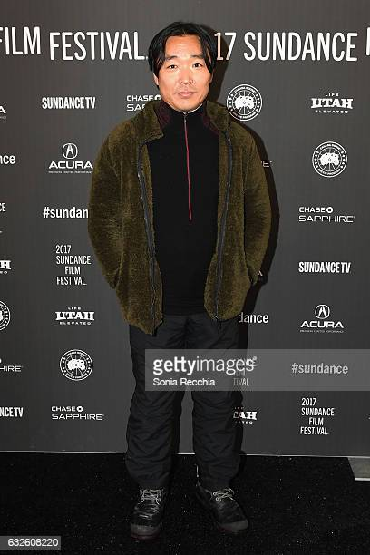 Composer Garron Chang attends the 'NOBODY SPEAK Trials Of A Free Press' Premiere at Library Center Theater on January 24 2017 in Park City Utah