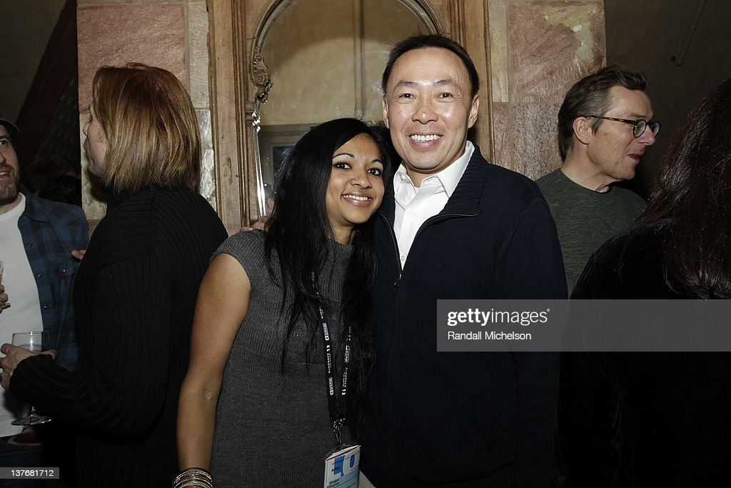 Composer Gingger Shankar and BMI Executive Ray Yee attend BMI dinner during the 2012 Sundance Film Festival held at Zoom Restaurant on January 24, 2012 in Park City, Utah.