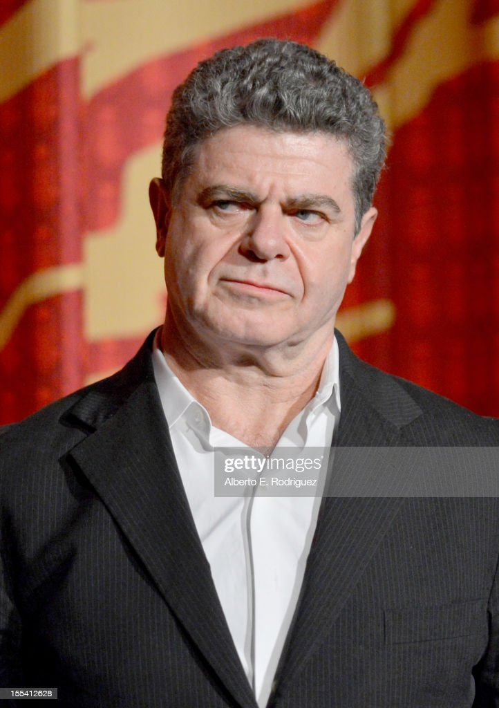 Composer <a gi-track='captionPersonalityLinkClicked' href=/galleries/search?phrase=Gustavo+Santaolalla&family=editorial&specificpeople=632513 ng-click='$event.stopPropagation()'>Gustavo Santaolalla</a> arrives at the 'On The Road' premiere during the 2012 AFI Fest presented by Audi at Grauman's Chinese Theatre on November 3, 2012 in Hollywood, California.