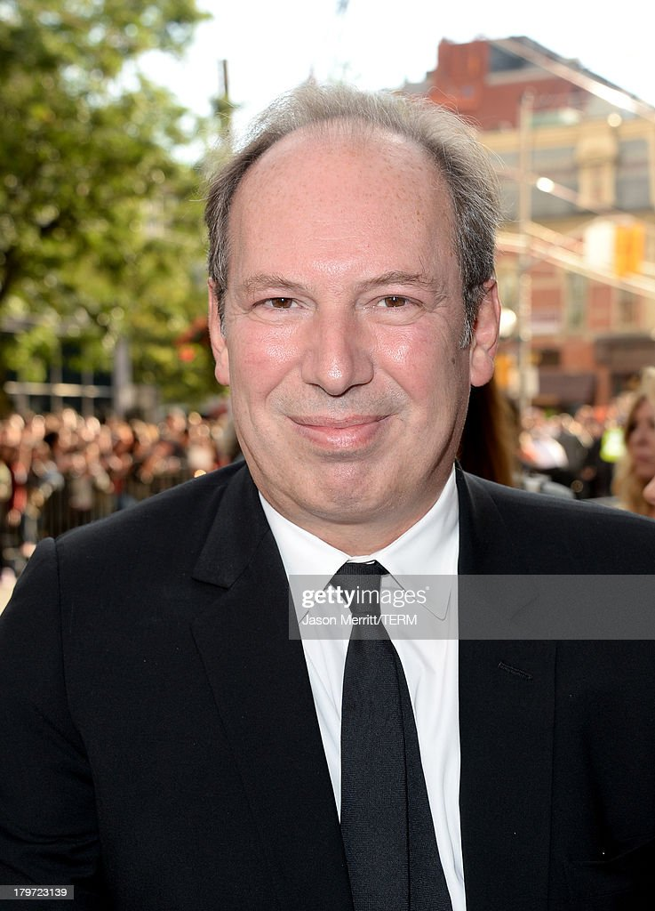Composer <a gi-track='captionPersonalityLinkClicked' href=/galleries/search?phrase=Hans+Zimmer&family=editorial&specificpeople=243005 ng-click='$event.stopPropagation()'>Hans Zimmer</a> arrives at the '12 Years A Slave' Premiere during the 2013 Toronto International Film Festival Princess of Wales Theatre on September 6, 2013 in Toronto, Canada.