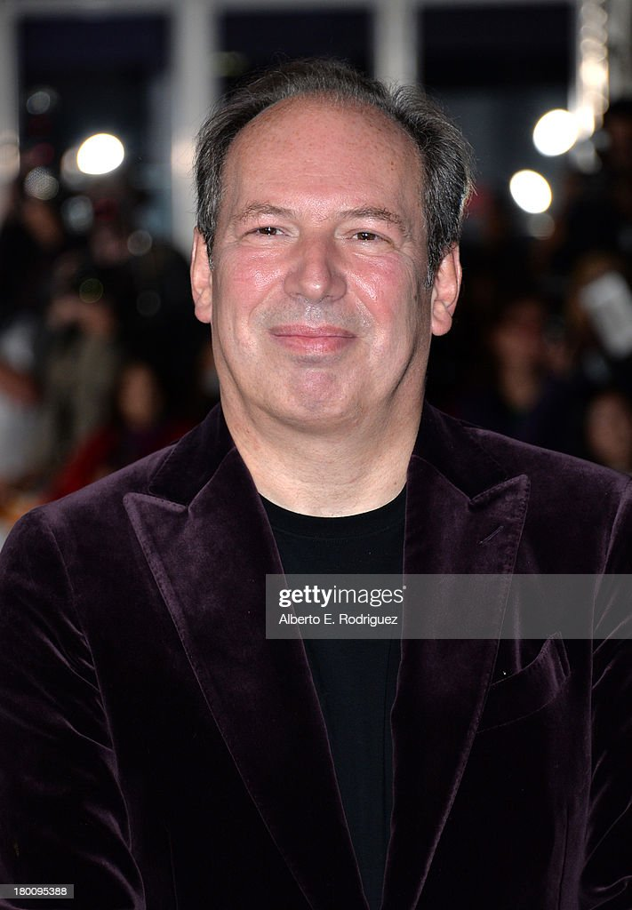 Composer <a gi-track='captionPersonalityLinkClicked' href=/galleries/search?phrase=Hans+Zimmer&family=editorial&specificpeople=243005 ng-click='$event.stopPropagation()'>Hans Zimmer</a> attends the 'Rush' premiere during the 2013 Toronto International Film Festival at Roy Thomson Hall on September 8, 2013 in Toronto, Canada.