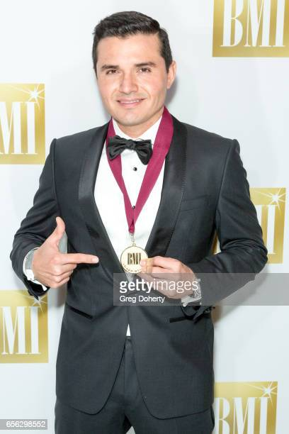 Composer Horacio Palencia attends the 24th Annual BMI Latin Awards at the Beverly Wilshire Four Seasons Hotel on March 21 2017 in Beverly Hills...