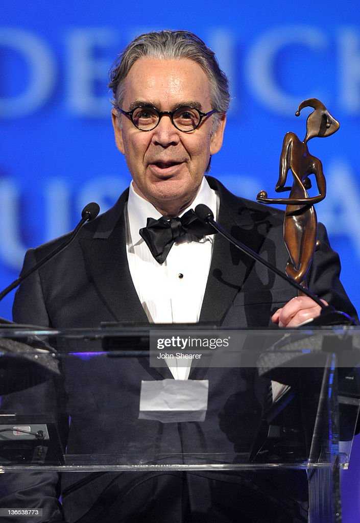 Composer <a gi-track='captionPersonalityLinkClicked' href=/galleries/search?phrase=Howard+Shore&family=editorial&specificpeople=208864 ng-click='$event.stopPropagation()'>Howard Shore</a> accepts the Fredrick Loewe Award for Film Composing onstage during The 23rd Annual Palm Springs International Film Festival Awards Gala at the Palm Springs Convention Center on January 7, 2012 in Palm Springs, California.