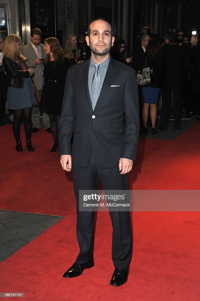 Composer Ilan Eshkeri attends the Festival Gala European Premiere of 'The Invisible Woman' during the 57th BFI London Film Festival at Odeon West End on October 17, 2013 in London, England.