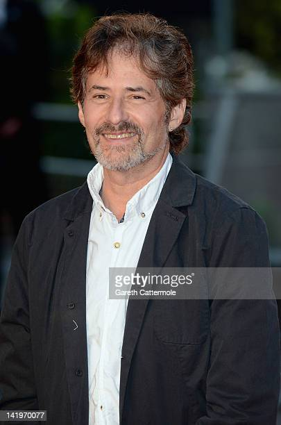 Composer James Horner attends the 'Titanic 3D' World Premeire at the Royal Albert Hall on March 27 2012 in London England