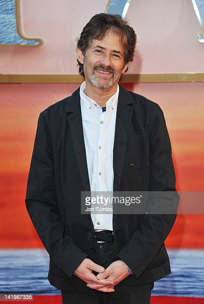 Composer James Horner attends the 'Titanic 3D' world premiere at the Royal Albert Hall on March 27 2012 in London England