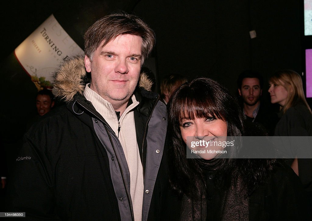 Composer Jean-Michel Bernard and Doreen Ringer Ross BMI attend the BMI Big Crowded Room Party at the Leaf Lounge during the 2008 Sundance Film Festival on January 21, 2008 in Park City, Utah.