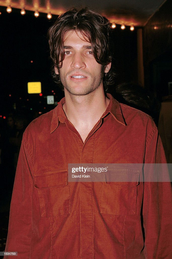 Composer Jeremy Parise arrives at the premiere of 'Kiss the Bride' at the Showcase Regent Theatre October 23, 2002 in Los Angeles, California.