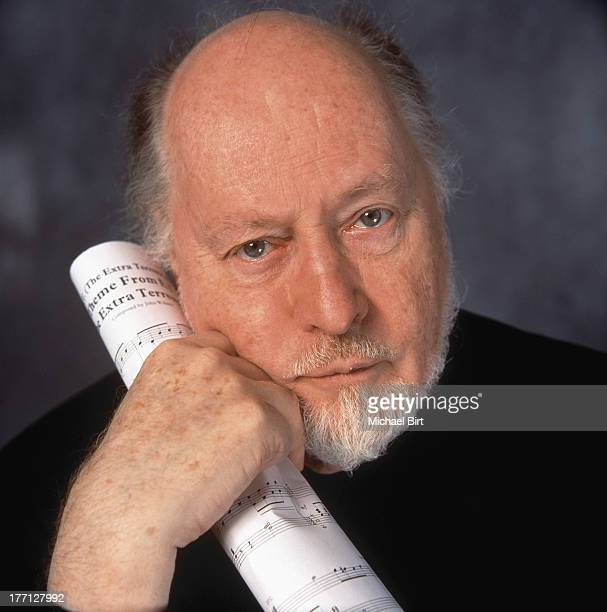 Composer John Williams is photographed on June 8 2000 in London England