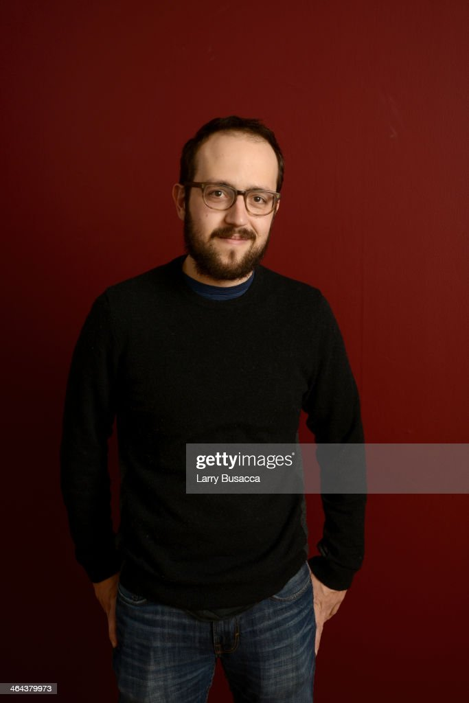Composer Joseph Trapanese poses for a portrait during the 2014 Sundance Film Festival at the Getty Images Portrait Studio at the Village At The Lift Presented By McDonald's McCafe on January 22, 2014 in Park City, Utah.