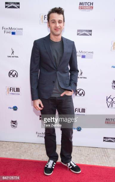 Composer Justin Hurwitz arrives for the 6th Annual Made in Hollywood Honors at Heart of Hollywood Terrace on February 16 2017 in Hollywood California