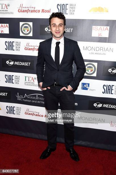 Composer Justin Hurwitz attends the 12th Edition of The Los Angeles Italia Film Fashion and Art Fest at TCL Chinese 6 Theatres on February 19 2017 in...