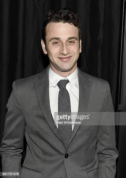 Composer Justin Hurwitz attends the 42nd annual Los Angeles Film Critics Association Awards at InterContinental Los Angeles Century City on January...