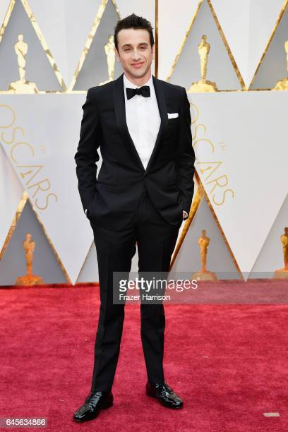 Composer Justin Hurwitz attends the 89th Annual Academy Awards at Hollywood Highland Center on February 26 2017 in Hollywood California
