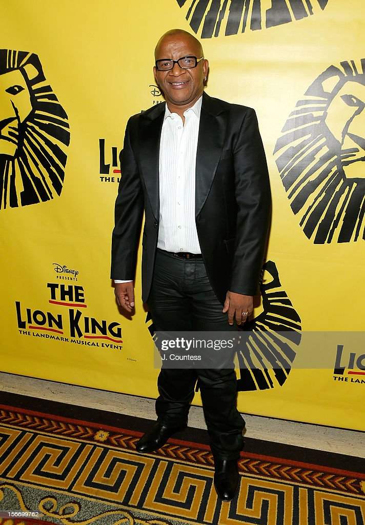 Composer Lebo M attends the afterparty for 'The Lion King' Broadway 15th Anniversary Celebration at Minskoff Theatre on November 18, 2012 in New York City.