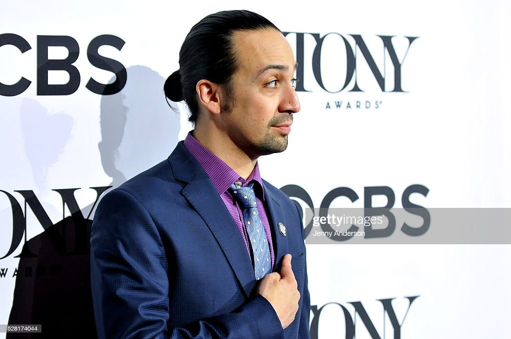 Composer <a gi-track='captionPersonalityLinkClicked' href=/galleries/search?phrase=Lin-Manuel+Miranda&family=editorial&specificpeople=4190598 ng-click='$event.stopPropagation()'>Lin-Manuel Miranda</a> attends the 2016 Tony Awards Meet The Nominees Press Reception on May 4, 2016 in New York City.