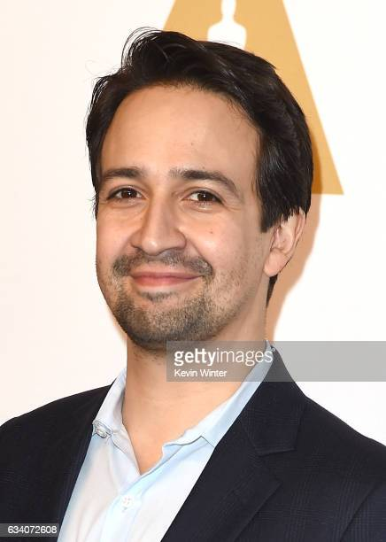 Composer LinManuel Miranda attends the 89th Annual Academy Awards Nominee Luncheon at The Beverly Hilton Hotel on February 6 2017 in Beverly Hills...