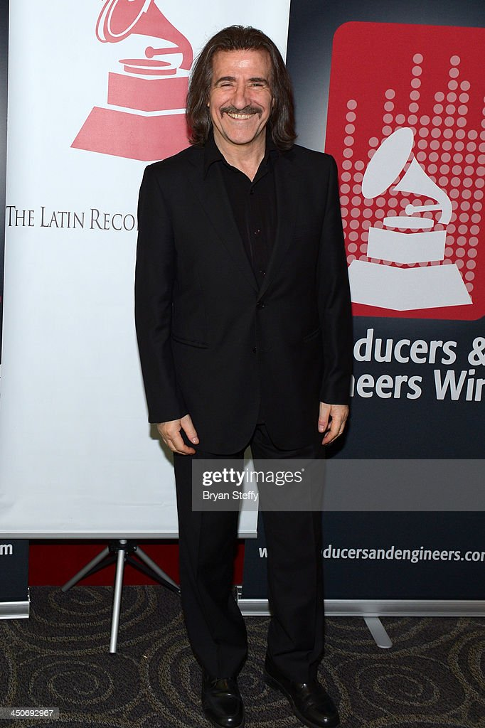 Composer <a gi-track='captionPersonalityLinkClicked' href=/galleries/search?phrase=Luis+Cobos&family=editorial&specificpeople=650002 ng-click='$event.stopPropagation()'>Luis Cobos</a> attends the P&E Wing Latin GRAMMY Celebration during the 14th annual Latin GRAMMY Awards on November 19, 2013 at the Palms Casino Resort in Las Vegas, Nevada.