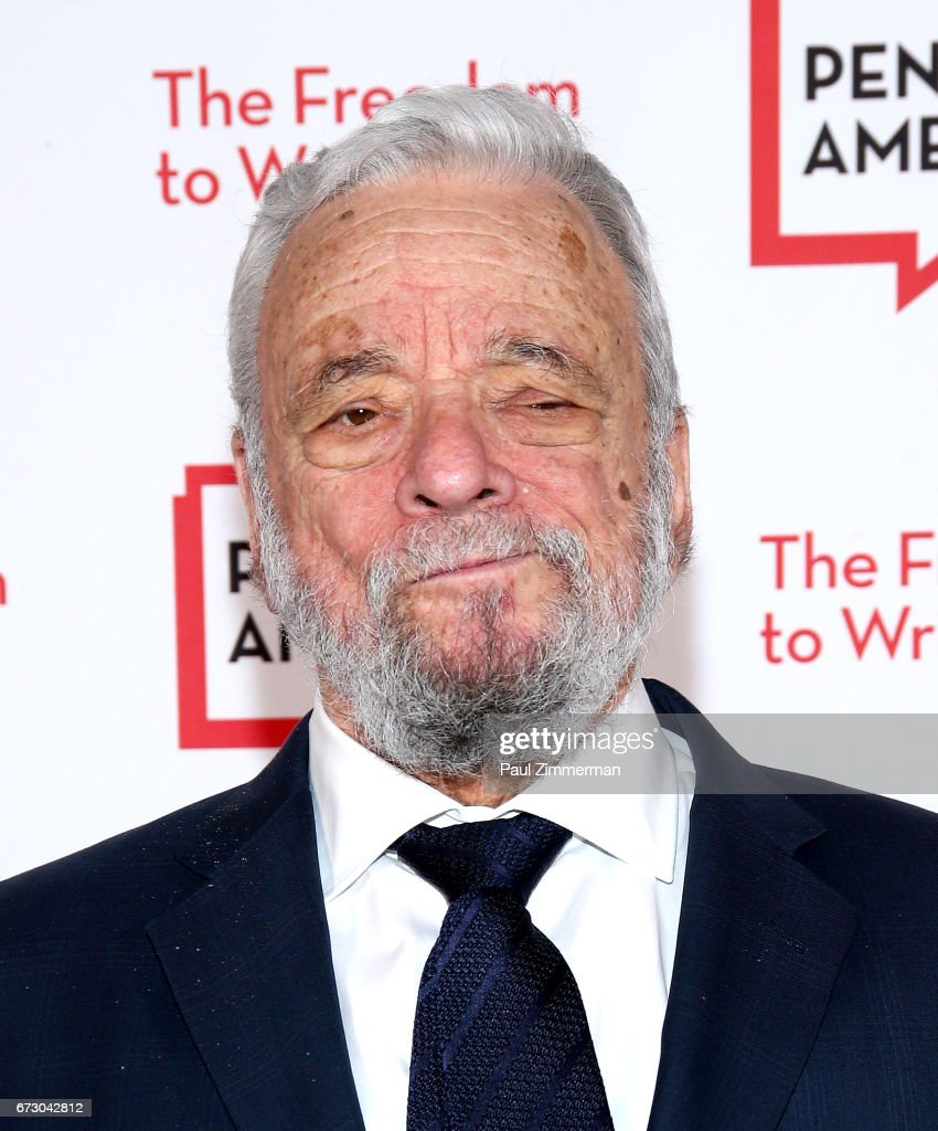 Composer, lyricist and honoree Stephen Sondheim attends PEN America's 2017 Literary Gala Red Carpet at American Museum of Natural History on April 25, 2017 in New York City.