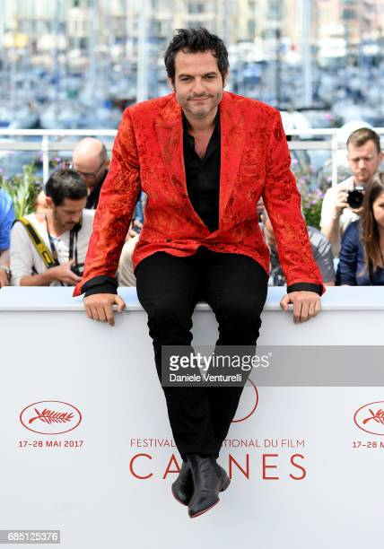 Composer Matthieu Chedid attends the 'Faces Places ' photocall during the 70th annual Cannes Film Festival at Palais des Festivals on May 19 2017 in...
