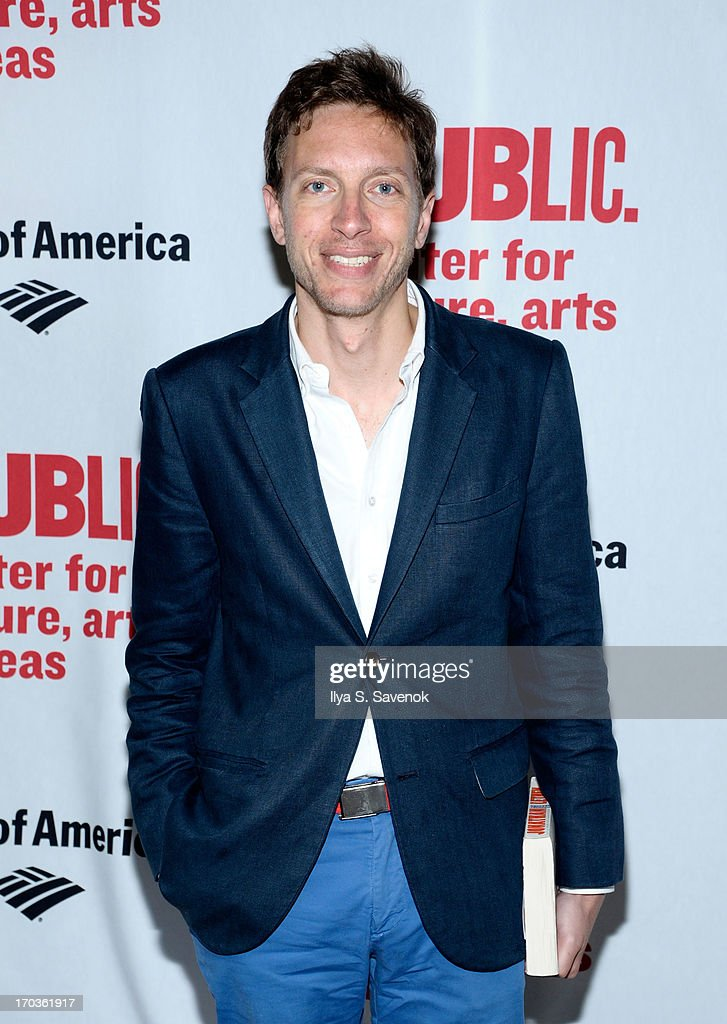 Composer Michael Friedman attends Annual Public Theater Gala at Delacorte Theater on June 11, 2013 in New York City.