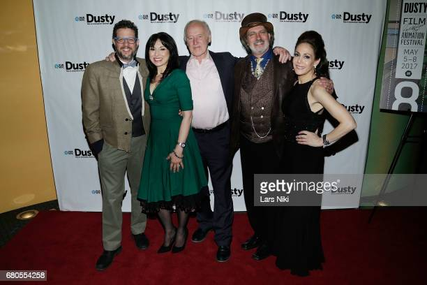 Composer Michael Giacchino Actor Valerie Smaldone BFA Film and Animation Department Chair at SVA Reeves Lehmann Producer David Silverman and Dusty...