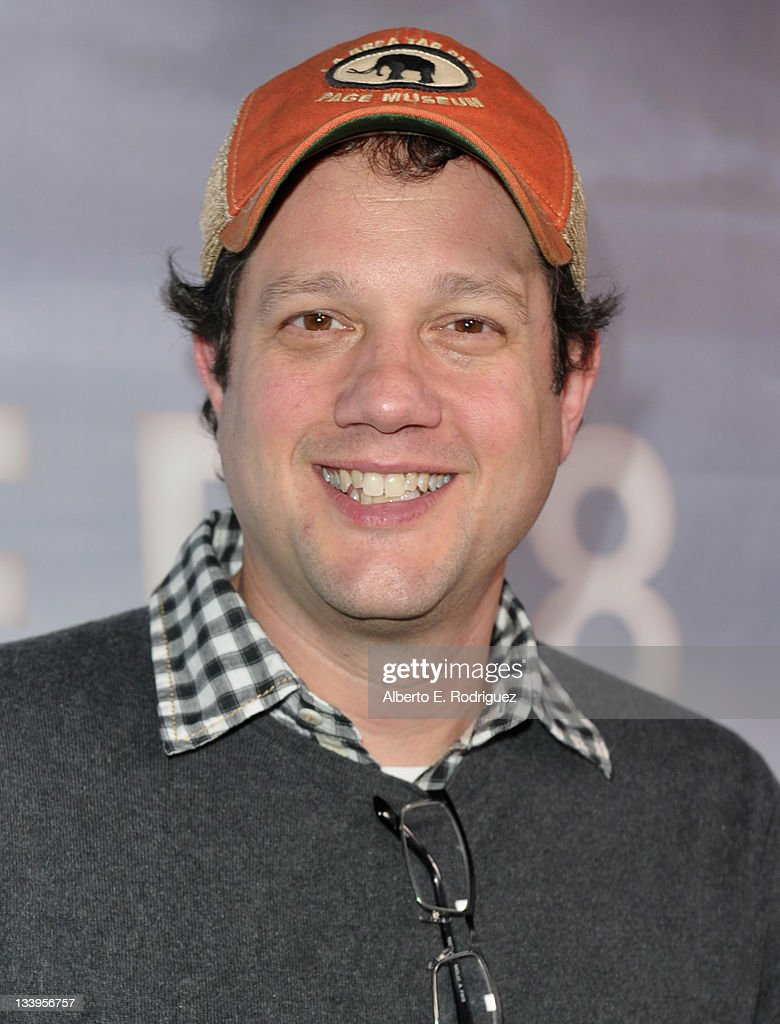 Composer Michael Giacchino arrives to Paramount Pictures' 'Super 8' Blu-ray and DVD release party at AMPAS Samuel Goldwyn Theater on November 22, 2011 in Beverly Hills, California.