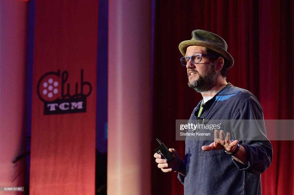 Composer Michael Giacchino speaks onstage at 'The Art of the Filmscore: Creating Memories in the Movies' during day 4 of the TCM Classic Film Festival 2016 on May 1, 2016 in Los Angeles, California. 25826_005