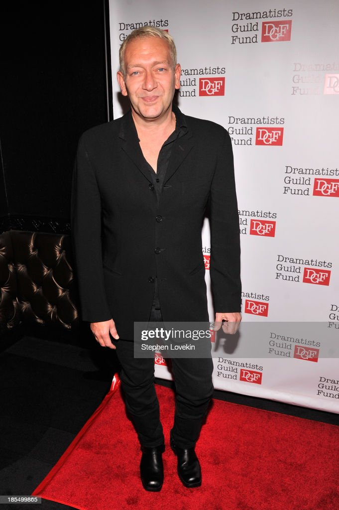 Composer Michael John LaChiusa attends the Great Writers Thank Their Lucky Stars annual gala hosted by The Dramatists Guild Fund on October 21, 2013 in New York City.