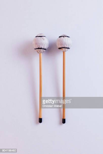 Composer musician Roy Ayers' vibraphone mallets photographed for GQ Conde Nast on September 15 2016 in New York City