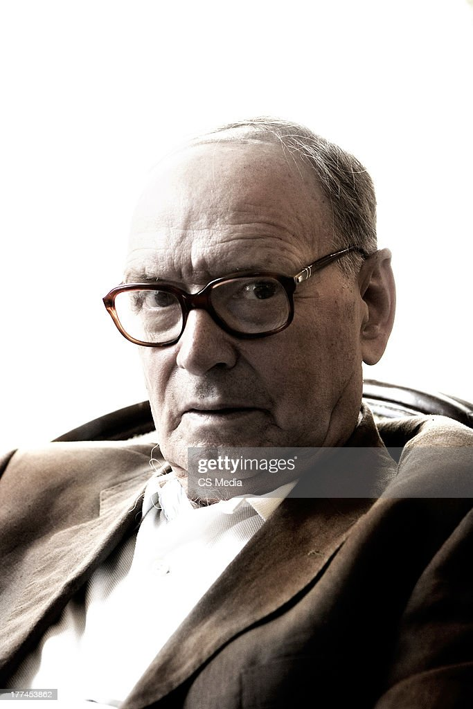 Composer, orchestrator and conductor <a gi-track='captionPersonalityLinkClicked' href=/galleries/search?phrase=Ennio+Morricone&family=editorial&specificpeople=677347 ng-click='$event.stopPropagation()'>Ennio Morricone</a> is photographed on August 28, 2007 in Venice, Italy.