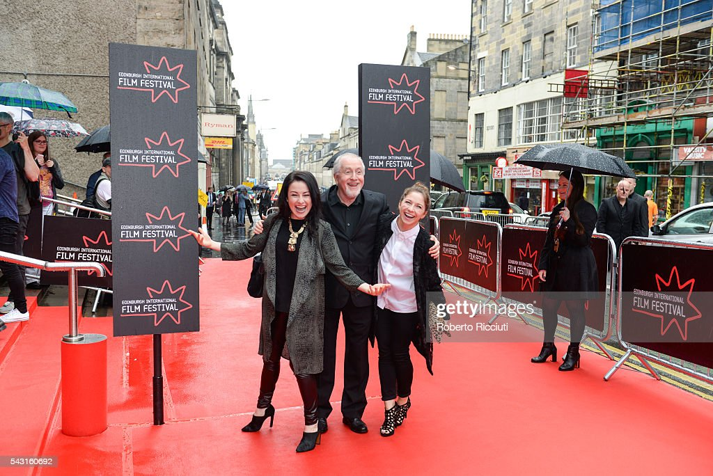 Composer Patrick Doyle (center) attends the EIFF Closing Night Gala and World Premiere of 'Whisky Galore!' during the 70th Edinburgh International Film Festival at Festival Theatre on June 26, 2016 in Edinburgh, United Kingdom.