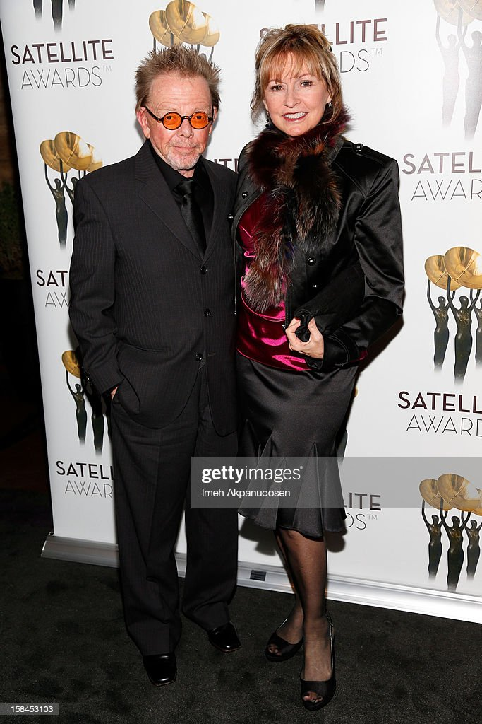 Composer Paul Williams (L) and author Mariana Williams attend International Press Academy's 17th Annual Satellite Awards at InterContinental Hotel on December 16, 2012 in Century City, California.