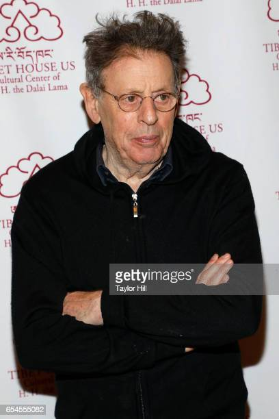Composer Philip Glass attends the Tibet House US 30th Anniversary Gala Celebration at Gotham Hall on March 16 2017 in New York City