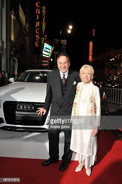 Composer Richard M Sherman and Elizabeth Sherman attend AFI FEST 2013 presented by Audi for Disney's 'Saving Mr Banks' opening night gala screening...