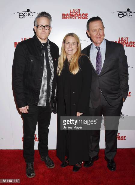 Composer Richard Patrick Barbara Patrick and actor Robert Patrick attend the Premiere Of Epic Pictures Releasings' 'Last Rampage' at ArcLight Cinemas...