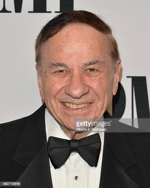 Composer Richard Sherman arrives to the BMI Film Television Awards at The Four Seasons Beverly Wilshire Hotel on May 14 2014 in Beverly Hills...