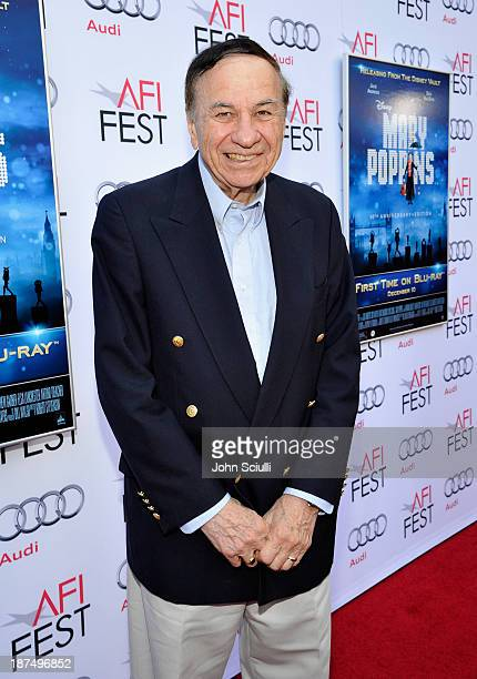 Composer Richard Sherman attends Mary Poppins 50th Anniversary Commemoration Screening at AFI Fest at TCL Chinese Theatre on November 9 2013 in...