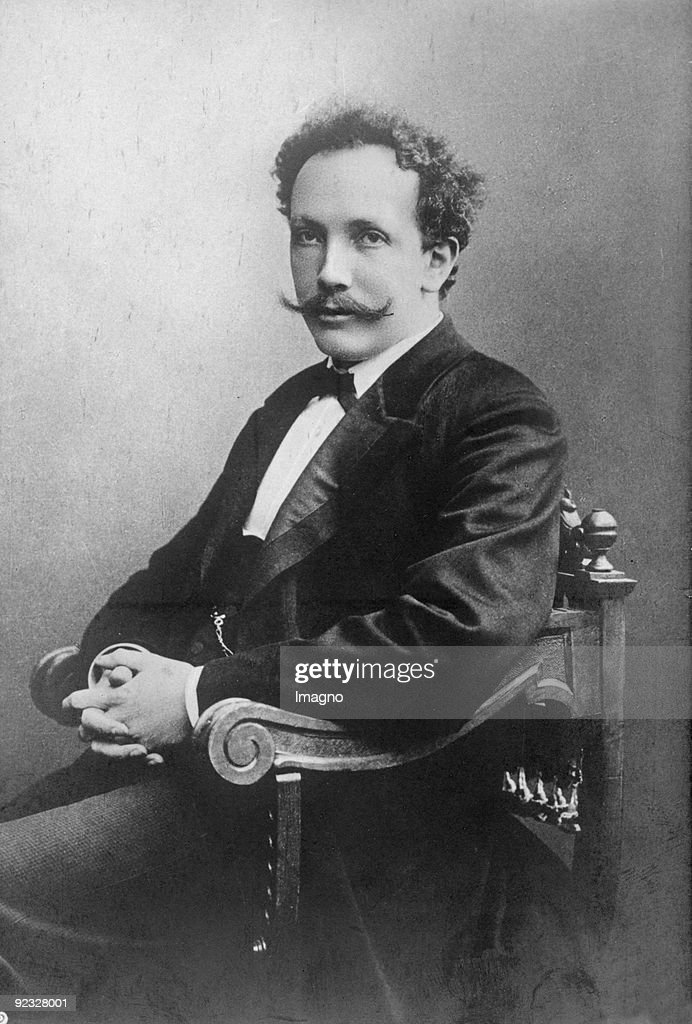 Composer <a gi-track='captionPersonalityLinkClicked' href=/galleries/search?phrase=Richard+Strauss+-+Composer&family=editorial&specificpeople=239044 ng-click='$event.stopPropagation()'>Richard Strauss</a>. Photograph around 1895