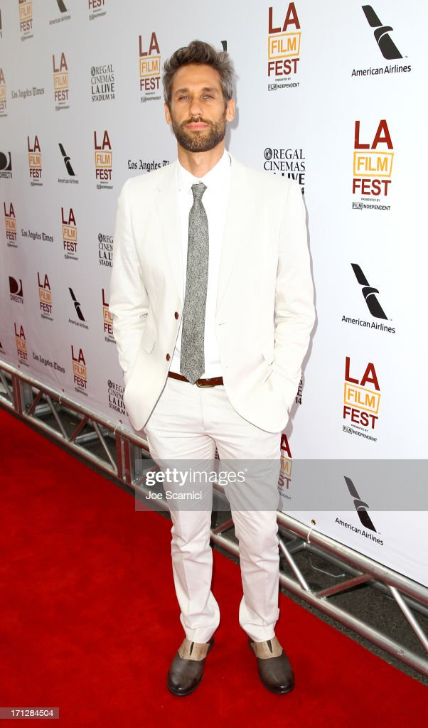 Composer Rob Simonsen attends 'The Way, Way Back' premiere sponsored by DIRECTV during the 2013 Los Angeles Film Festival at Regal Cinemas L.A. Live on June 23, 2013 in Los Angeles, California.