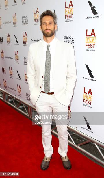 Composer Rob Simonsen attends 'The Way Way Back' premiere sponsored by DIRECTV during the 2013 Los Angeles Film Festival at Regal Cinemas LA Live on...