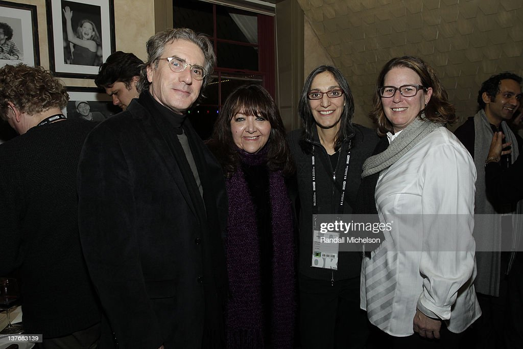 Composer Scott Wilk, BMI Executive Doreen Ringer Ross, Composer Miriam Cutler and BMI Executive Alison Smith attend BMI dinner during the 2012 Sundance Film Festival held at Zoom Restaurant on January 24, 2012 in Park City, Utah.